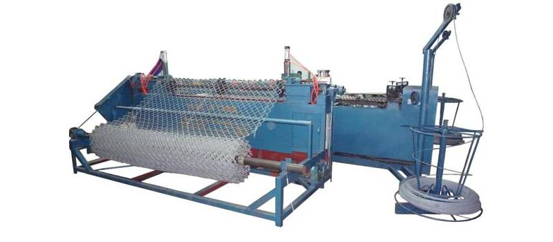 Chain Link Fence Machine image