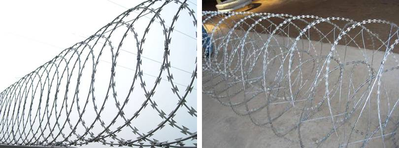 Concertina Wire Covers Flat Concertina Wire And Concertina