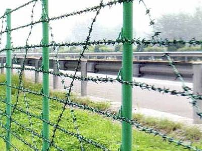 Install Barbed Wire Fence